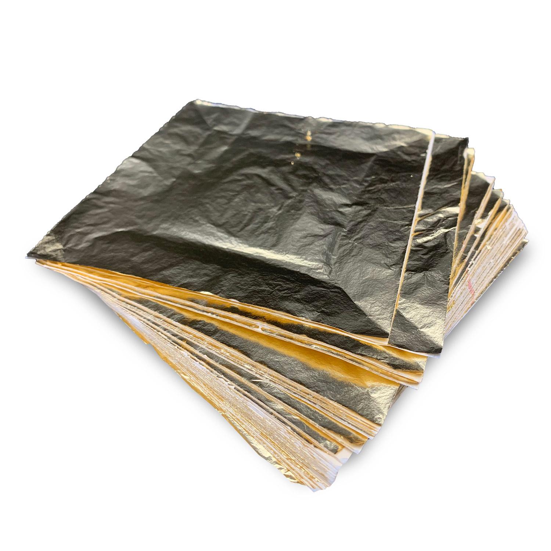 Goldimitation-Blattmetall  Bogen zum Vergolden