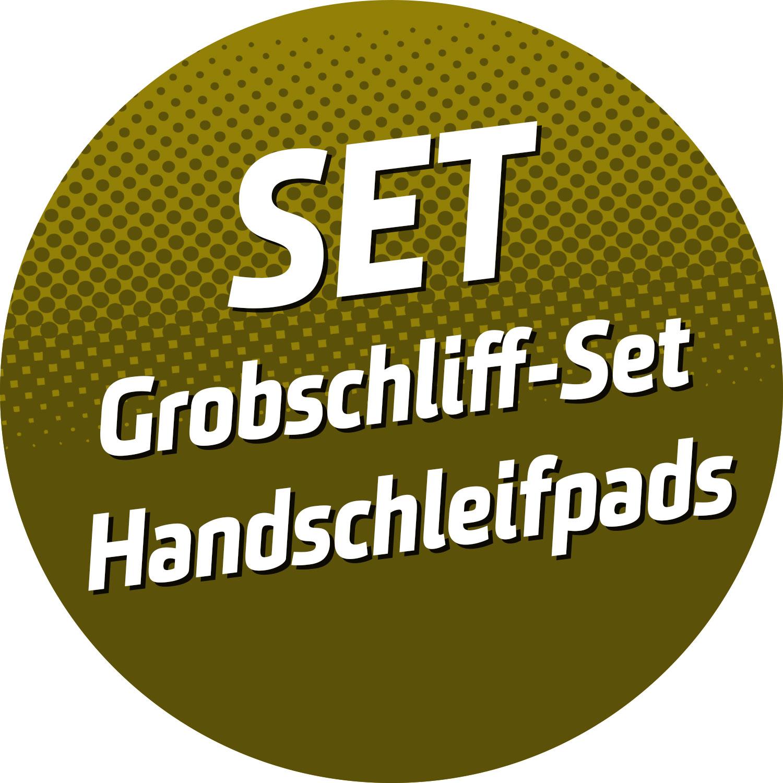 Grobschliff-SET Handschleifpads