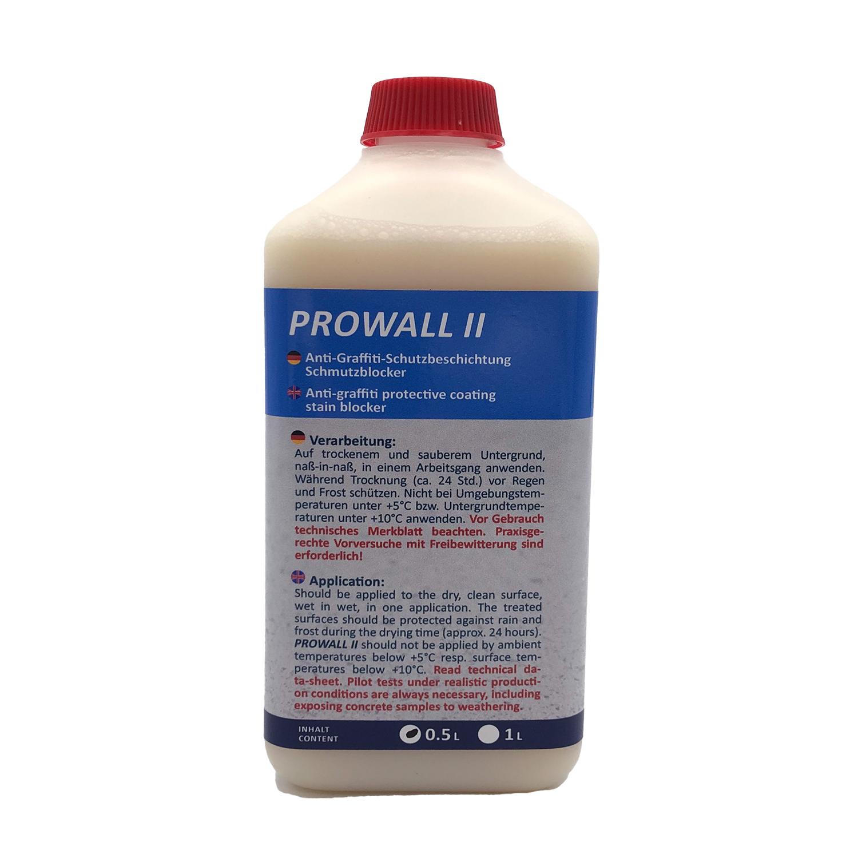 PROWALL II - Graffiti-und Schmutzblocker