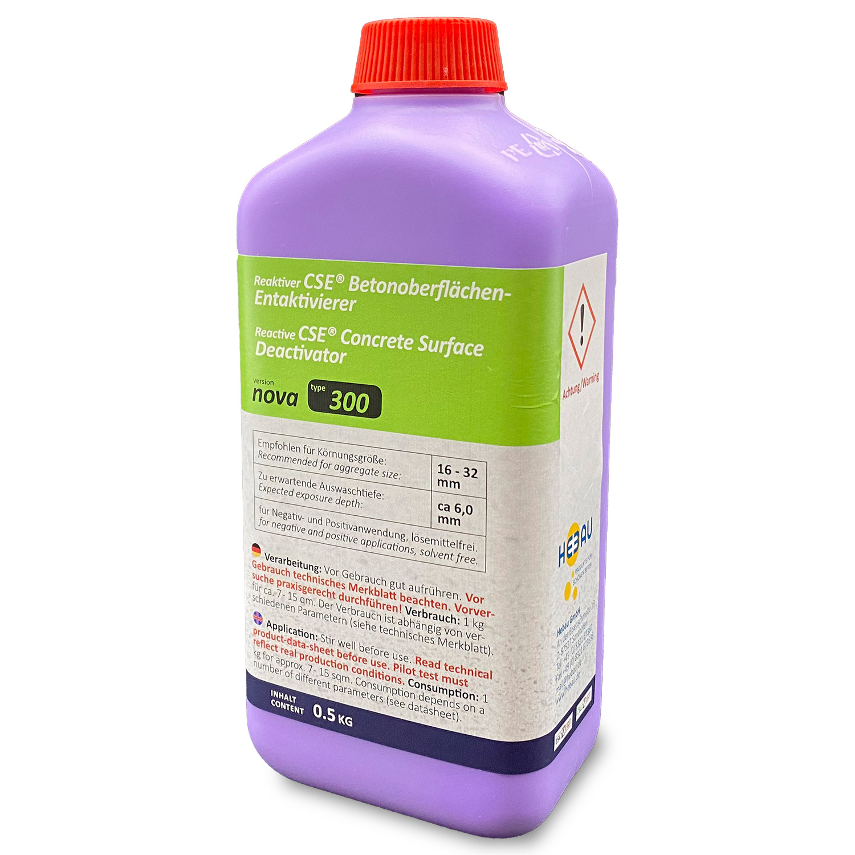 "CSE® ""nova"" 300 - Waschbetonentaktivierer mit Auswaschtiefe ca. 6 mm (tiefe Auswaschtiefe)"