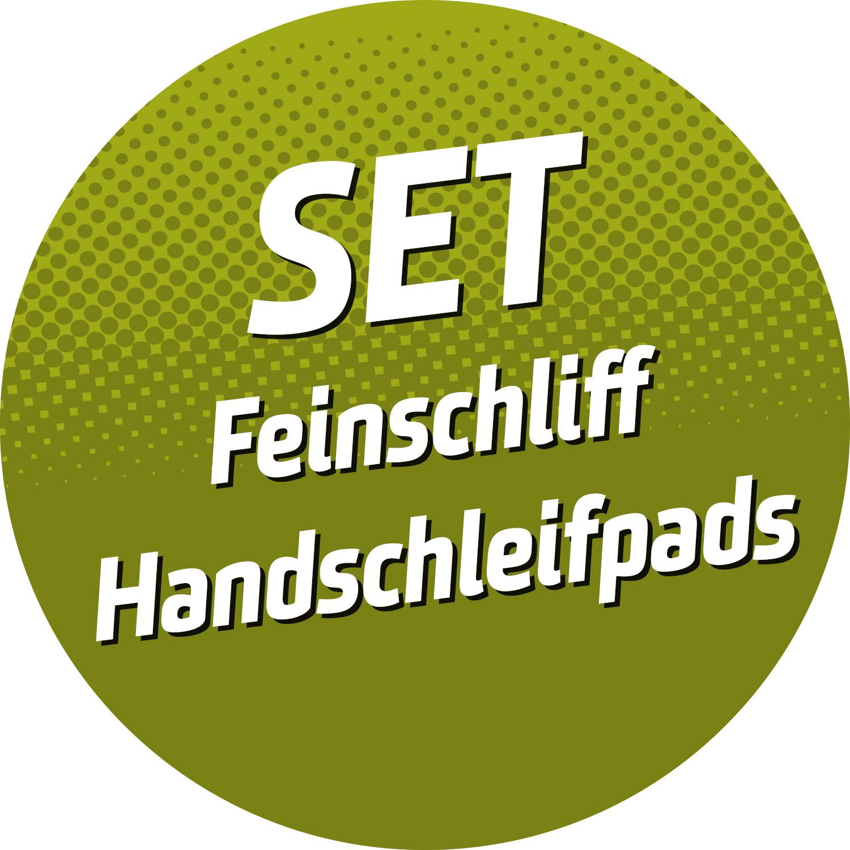 Feinschliff-SET Handschleifpads