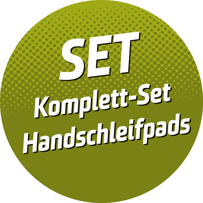 Komplett-Set Handschleifpads