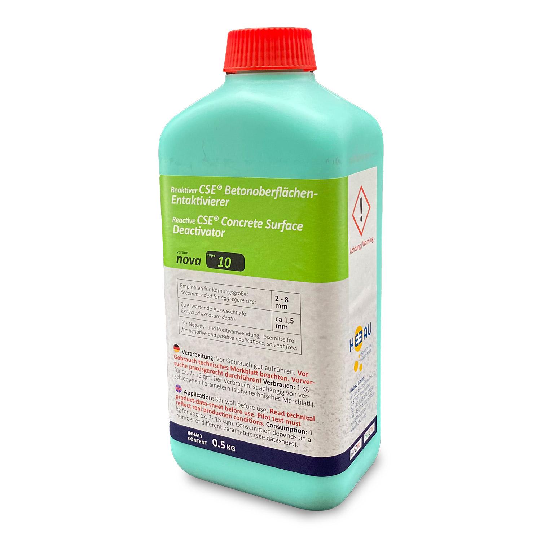 """CSE """"nova"""" 10 - Waschbetonentaktivierer mit Auswaschtiefe ca. 1,5 mm (Feinauswaschung)"""