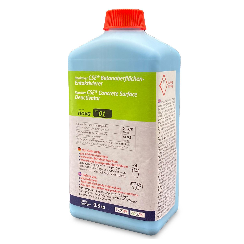 """CSE """"nova"""" 01 - Waschbetonentaktivierer mit Auswaschtiefe ca. 0,5 mm (Microauswaschung)"""