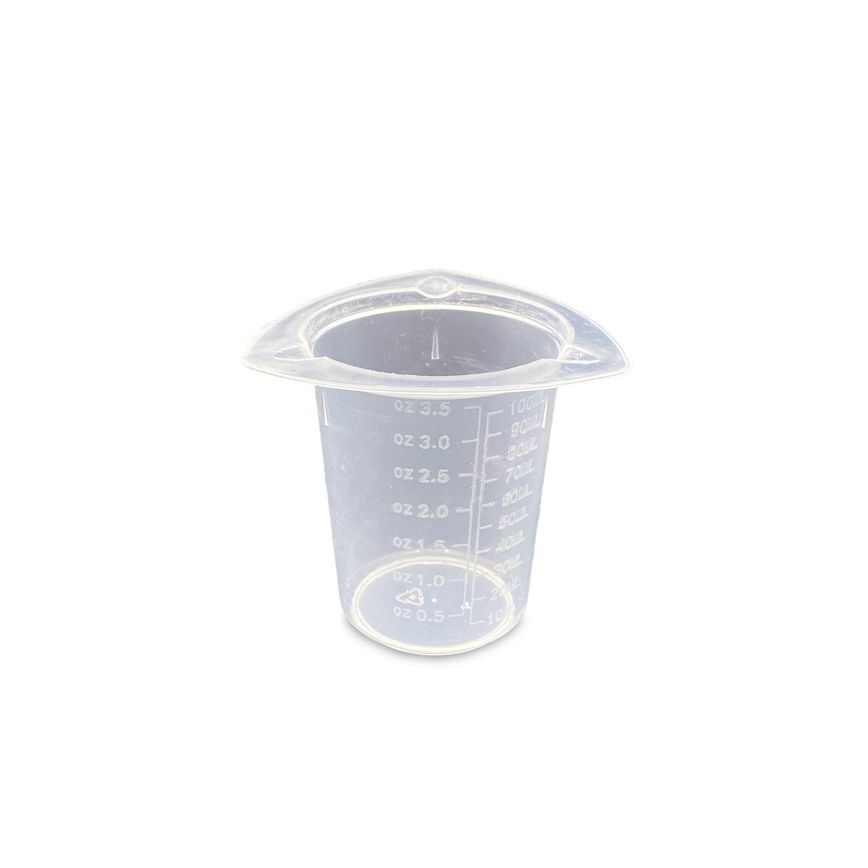 Präzisionsmessbecher für Kleinmengen - Skala bis 100 ml